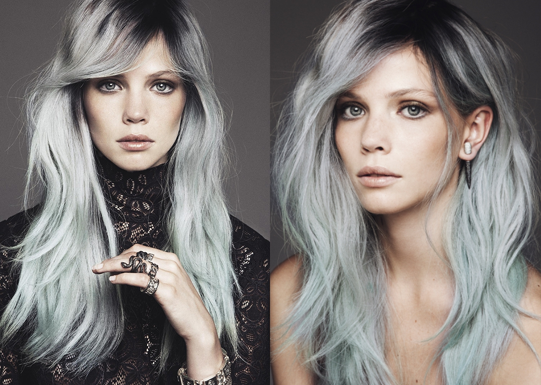 Цвет мокрого асфальта цвет волос